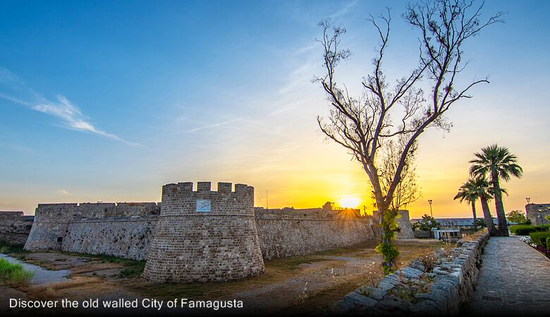 Discover the old walled City of Famagusta