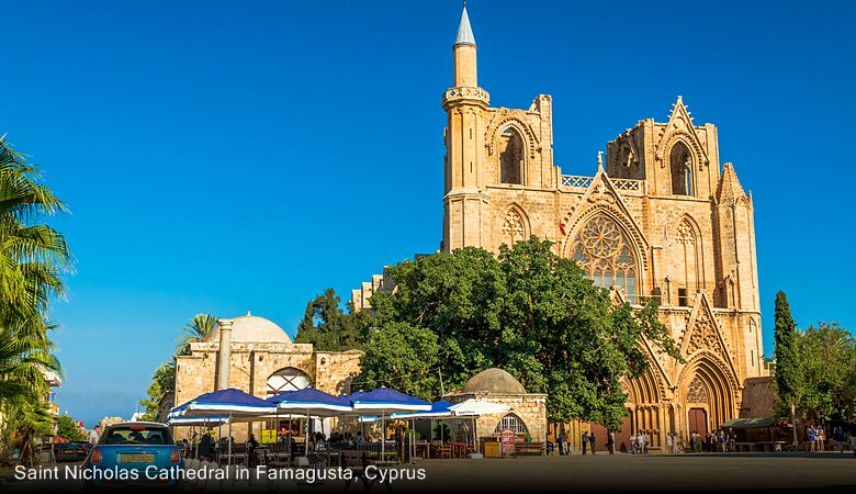 Saint Nicholas Cathedral in Famagusta, Cyprus