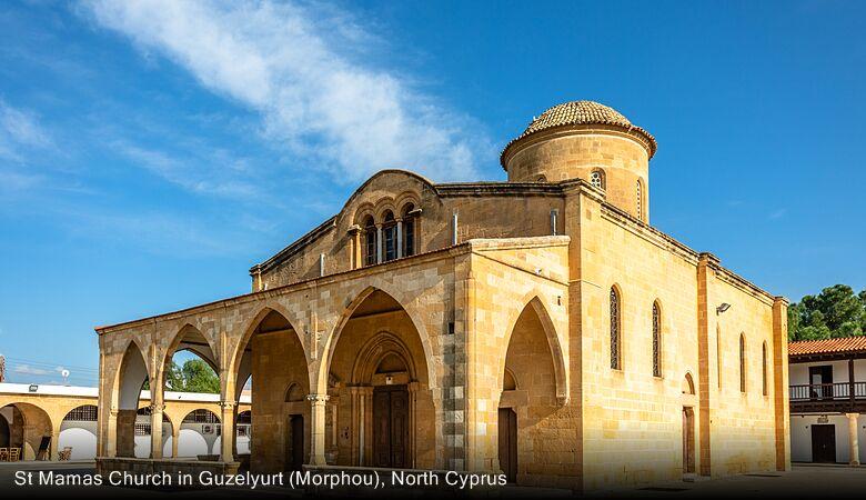 St Mamas Church in Guzelyurt (Morphou), North Cyprus