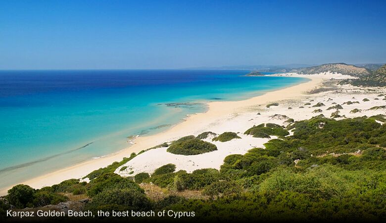 Karpaz Golden Beach, the best beach of Cyprus