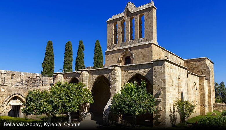 Bellapais Abbey, Kyrenia, Cyprus