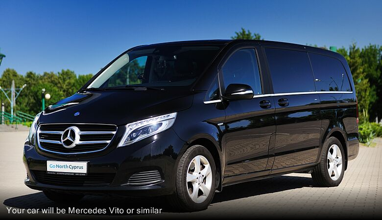 Your car will be Mercedes Vito or similar