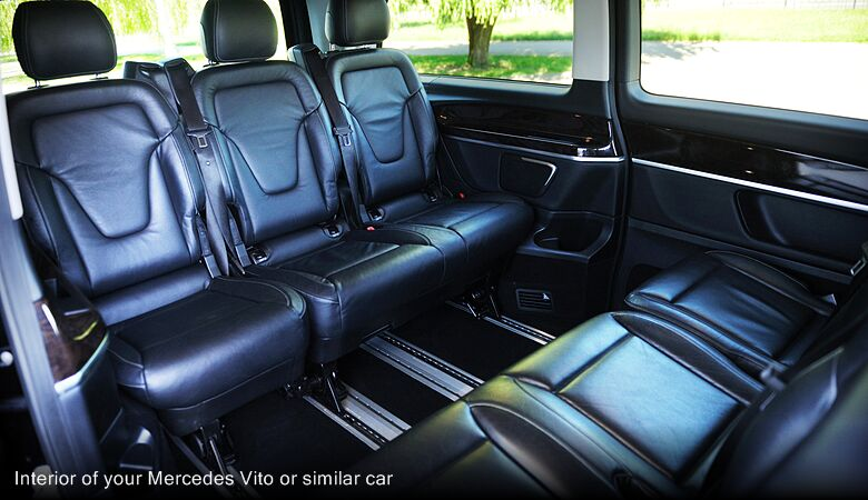Interior of your Mercedes Vito or similar car